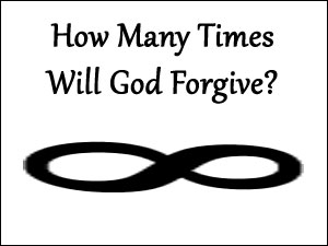 God always will forgive
