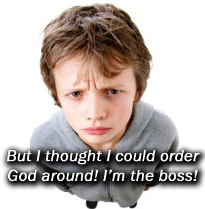 Not The Boss Of God