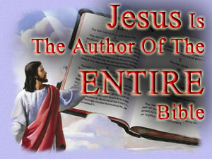 Jesus wrote the Bible