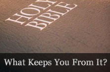 not reading the bible