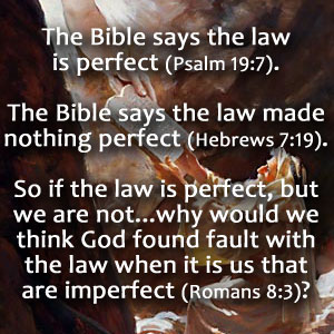 Law Is Perfect